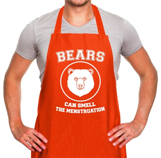 Bears Can Smell The Menstruation Apron