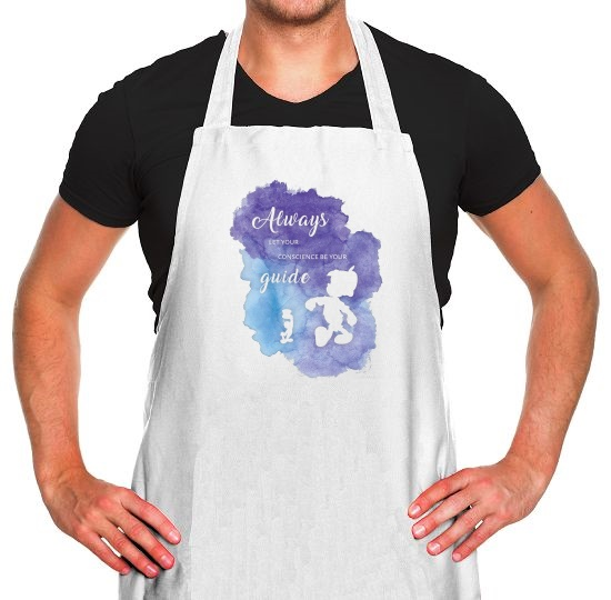 Always Let Your Conscience Be Your Guide Apron