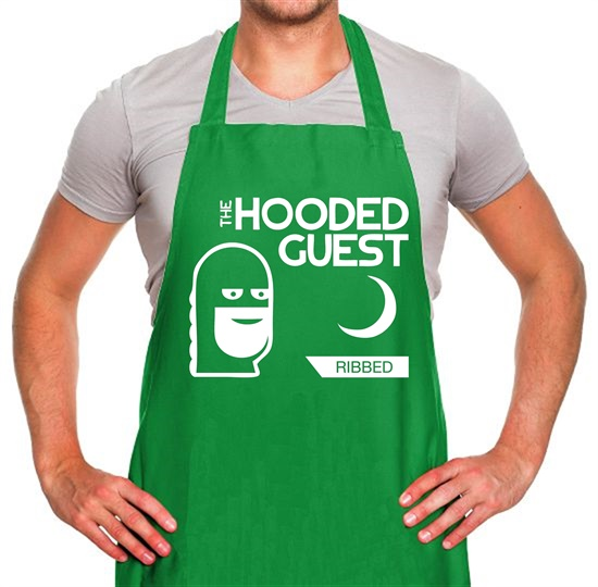 Anchorman 2 - The hooded guest Apron
