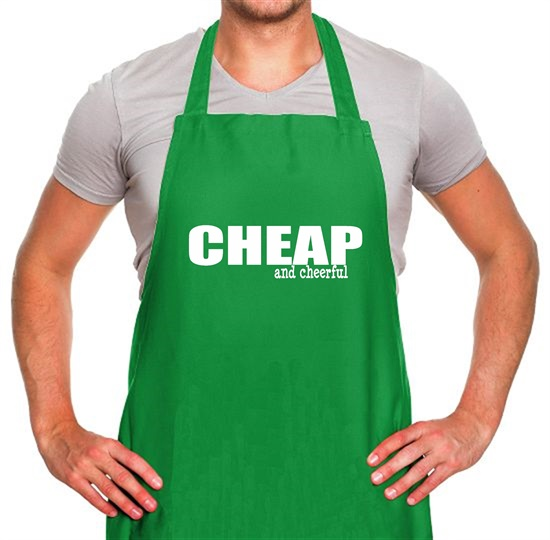 Cheap And Cheerful Apron