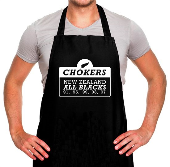 Chokers New Zealand All Blacks Apron