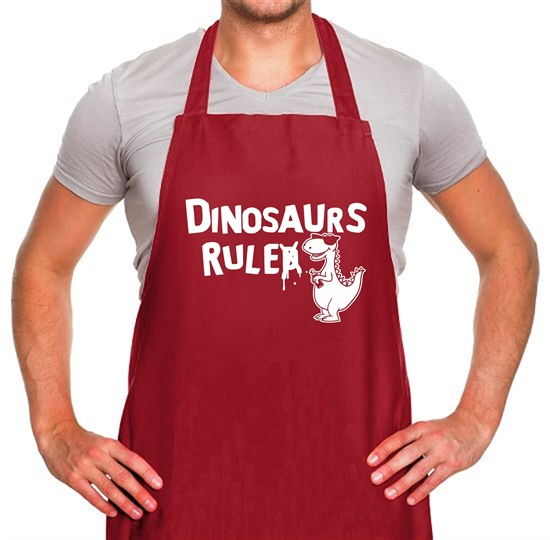 Dinosaurs Ruled Apron