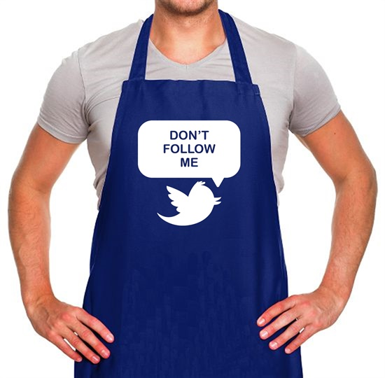Don't Follow Me Apron