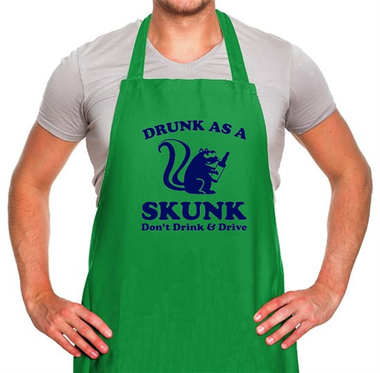 Drunk As A Skunk Apron
