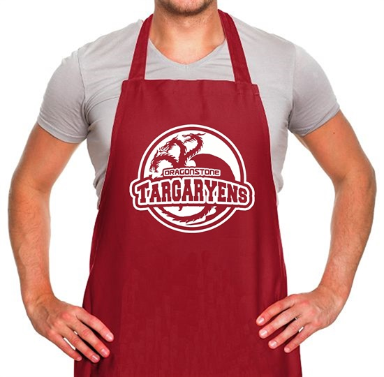 Game Of Thrones - Team Targaryen Apron