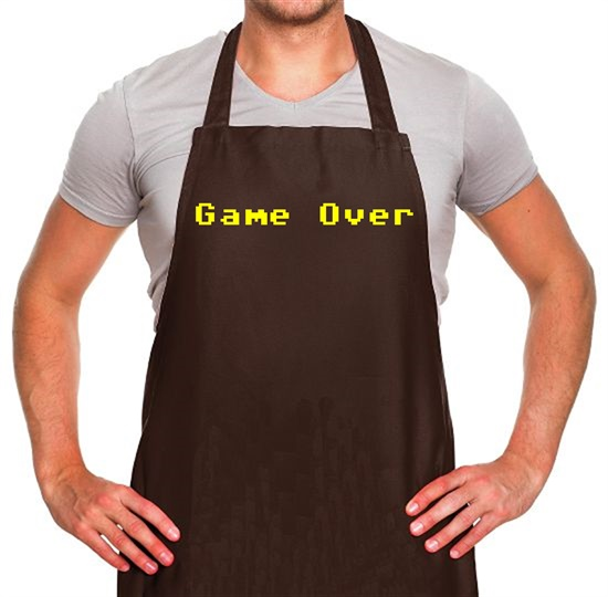 Game Over Player Apron