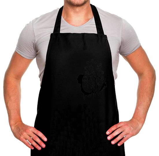 Hand Heart Burst Top Apron