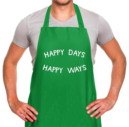 Happy Days Happy Ways Apron