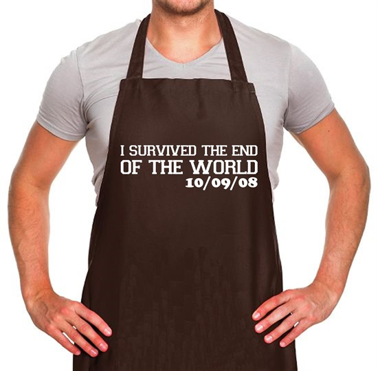 I Survived The End Of The World - 10/09/08 Apron