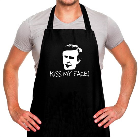 Kiss My Face Apron