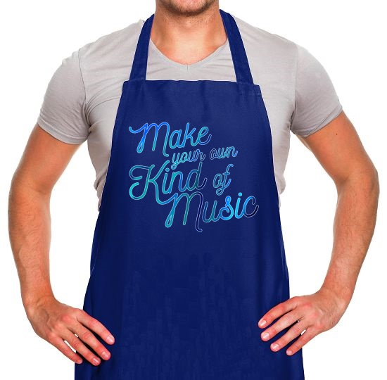 Make Your Own Kind Of Music Apron