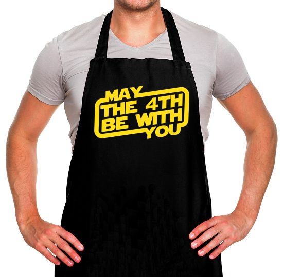 May The 4th Be With You Apron