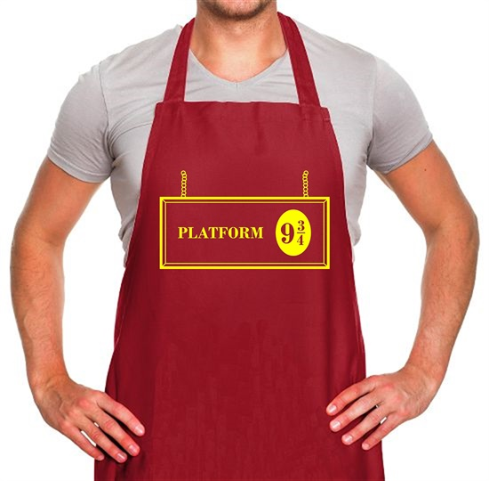 Platform Nine And Three Quarters Apron