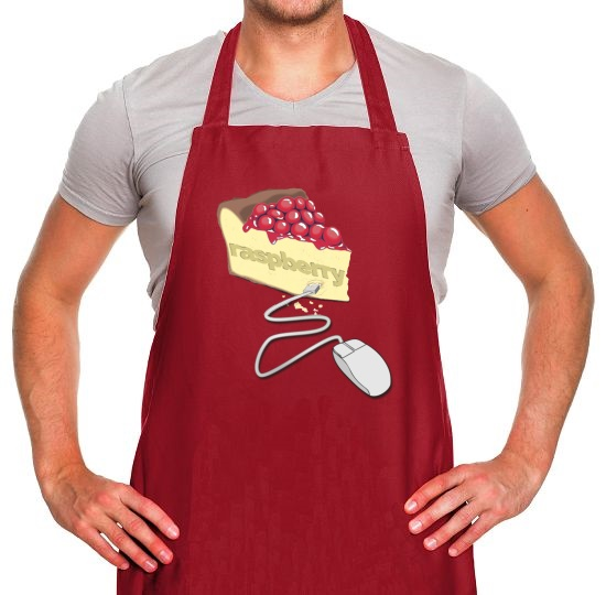 Raspberry Pie Apron