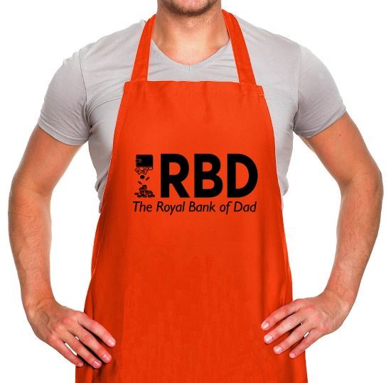 Royal Bank of Dad Apron