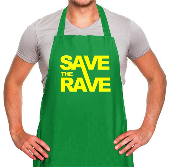 Save The Rave Apron