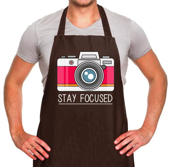 Stay Focused Apron