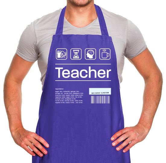 Teacher Ingredients Apron