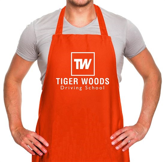 Tiger Woods Driving School Apron