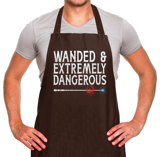 Wanded & Extremely Dangerous Apron