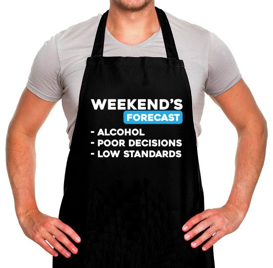 Weekends Forecast Apron