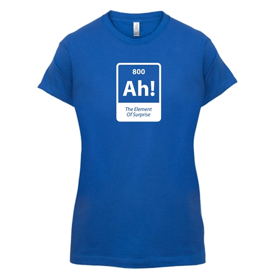 The Element Of Surprise t-shirts for ladies