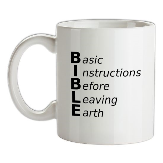 Basic Instructions Before Leaving Earth t-shirts