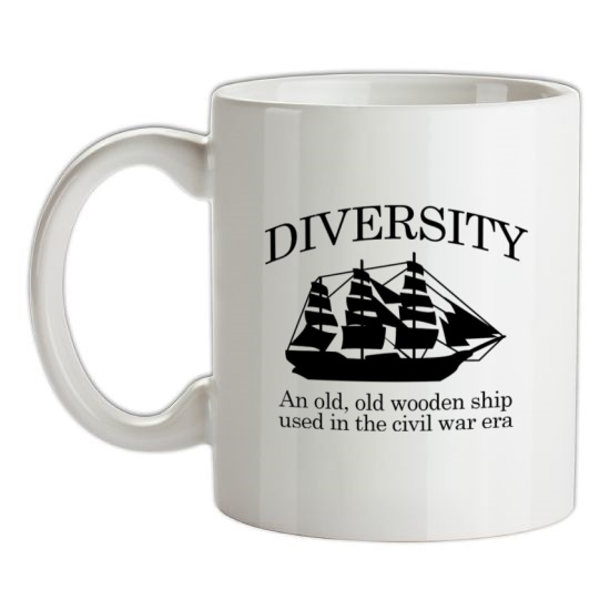 Diversity - An Old Old Wooden Ship Used In The Civil War Era t-shirts