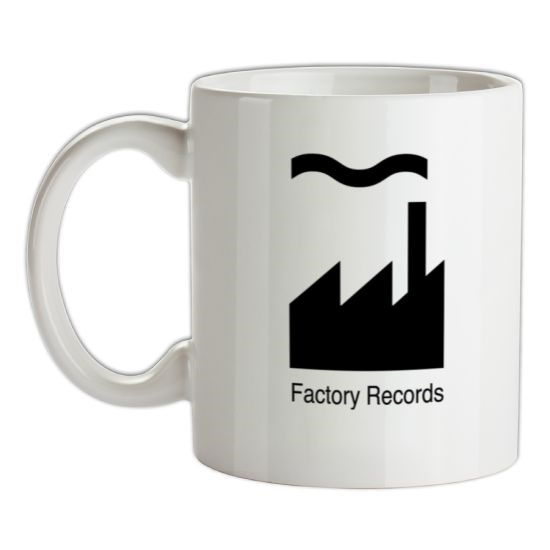 Factory Records t-shirts