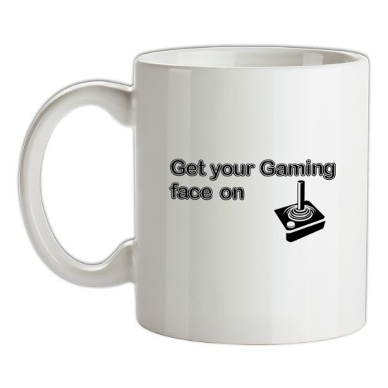 Get Your Gaming Face On t-shirts