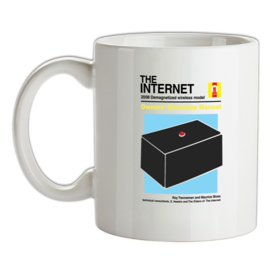 The Internet Owners Manual t-shirts