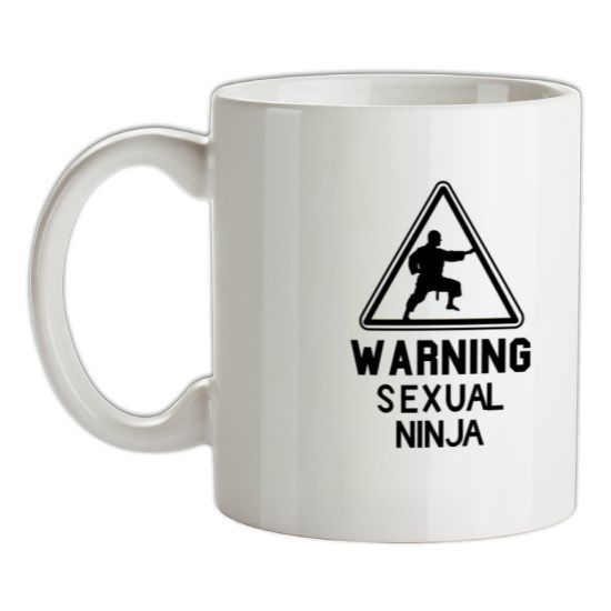 Warning Sexual Ninja t-shirts