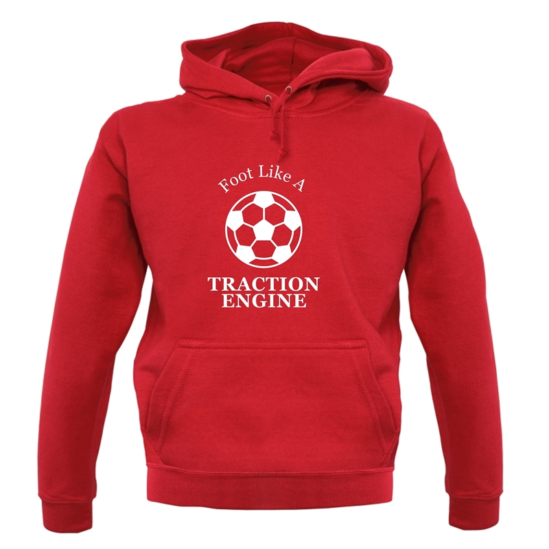 A Foot Like A Traction Engine Hoodies