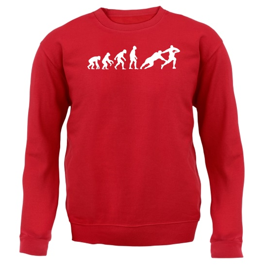 Evolution of Man Rugby Jumpers