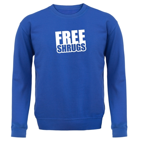 Free Shrugs Jumpers