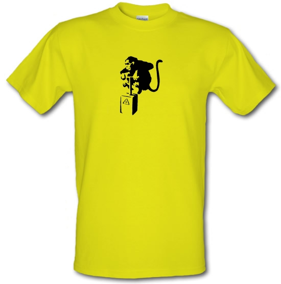 Banksy Monkey Detonator T-Shirts for Kids