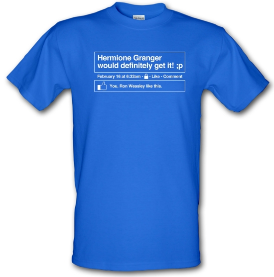 Hermione Granger would definitely get it! T-Shirts for Kids