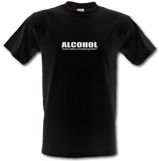 Alcohol It Just Makes Everything Better T-Shirts for Kids