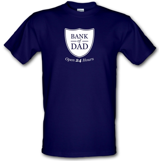 Bank Of Dad T-Shirts for Kids