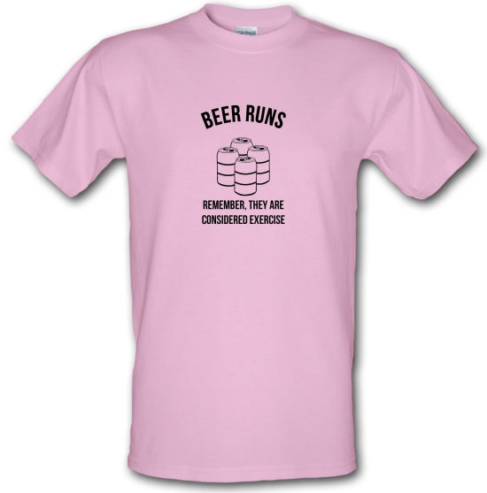 beer runs remember they are considered excercise T-Shirts for Kids