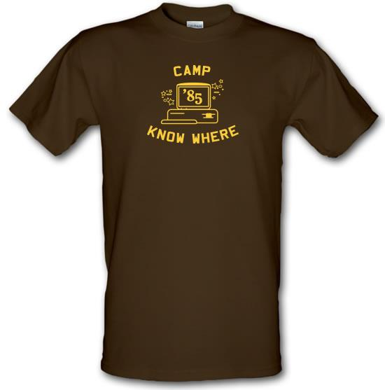 Camp Know Where T-Shirts for Kids