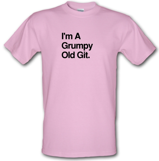 I'm A Grumpy Old Git T-Shirts for Kids