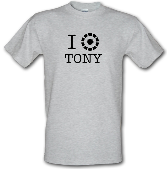 I Heart Tony Stark T-Shirts for Kids