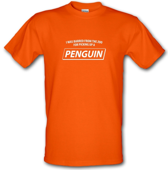 I Was Barred From The Zoo For Picking Up A Penguin T-Shirts for Kids