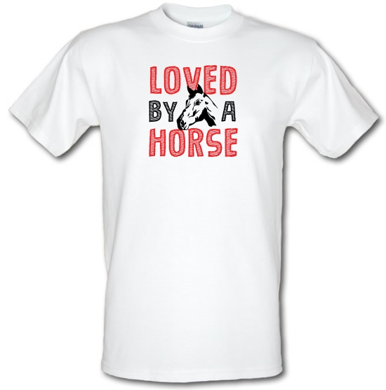 Loved By A Horse T-Shirts for Kids