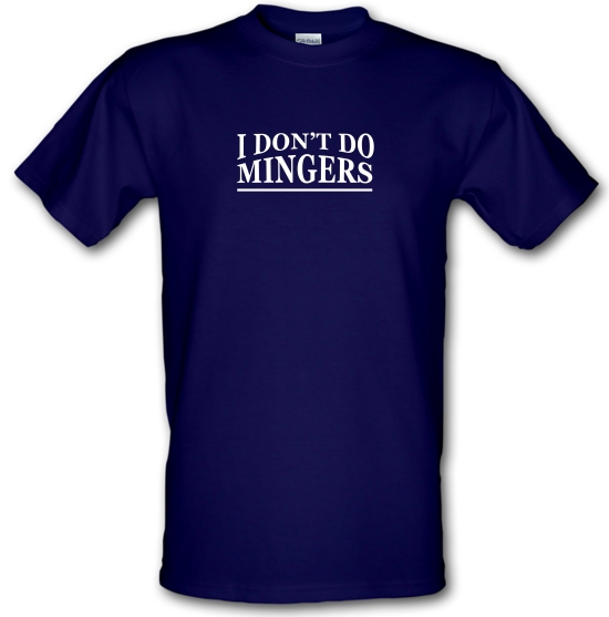I Don't Do Mingers T-Shirts for Kids