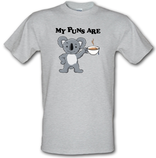 My Puns Are Koala Tee T-Shirts for Kids