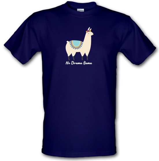No Drama Llama T-Shirts for Kids