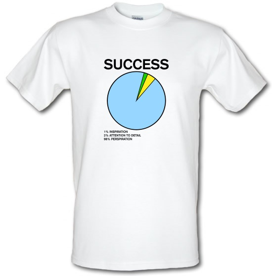 Success Pie Chart T-Shirts for Kids