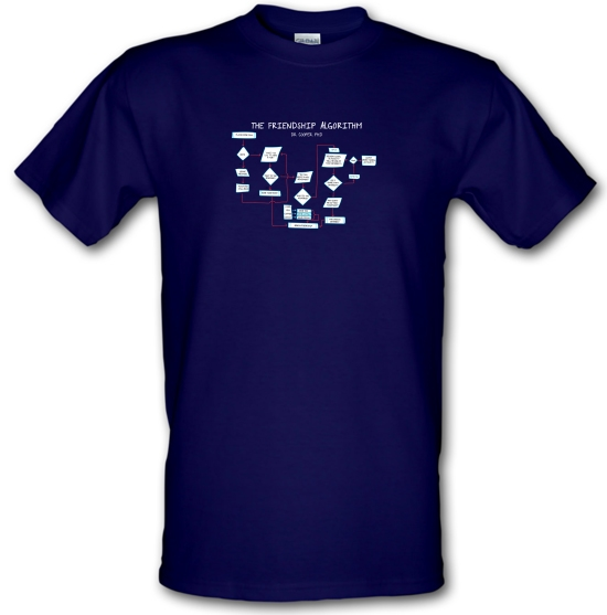 The Friendship Algorithm T-Shirts for Kids